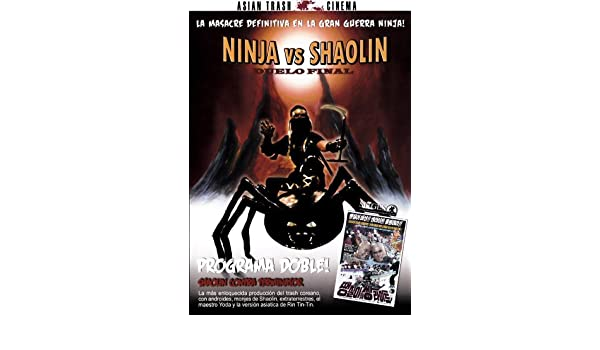 NINJA VS SHAOLIN + SHAOLIN VS TERMINATOR [DVD]: Amazon.es ...