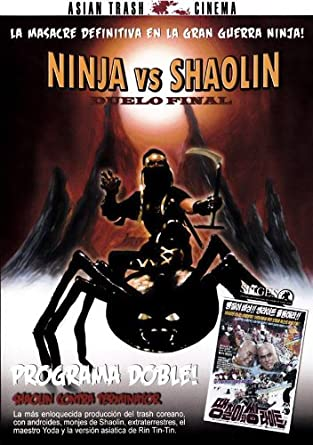 NINJA VS SHAOLIN + SHAOLIN VS TERMINATOR [DVD]: Amazon.es ...