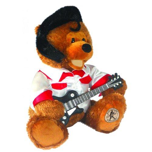 Teddie B. Animated Soft Plush Toy by Cuddle Barn CB9635 Sings Elvis Presley's Classic Song