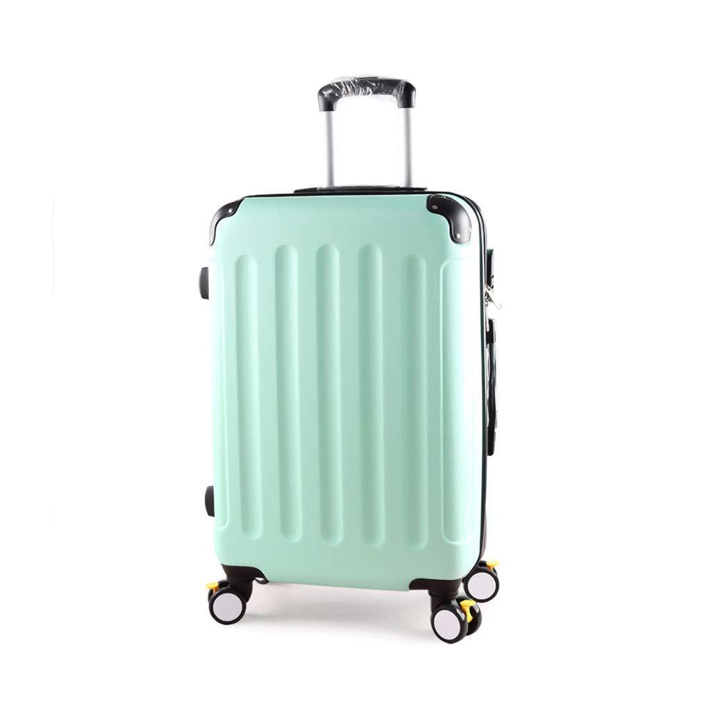 極度の軽量のABS堅い貝旅行は4つの車輪の小屋の箱、26 * 44 * 69cmが付いている小屋手の荷物のスーツケースで続けます B07MLKB7JC green