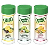 True Lemon Pepper, Orange Ginger, & Lime Garlic Cilantro Spice Shaker Kit