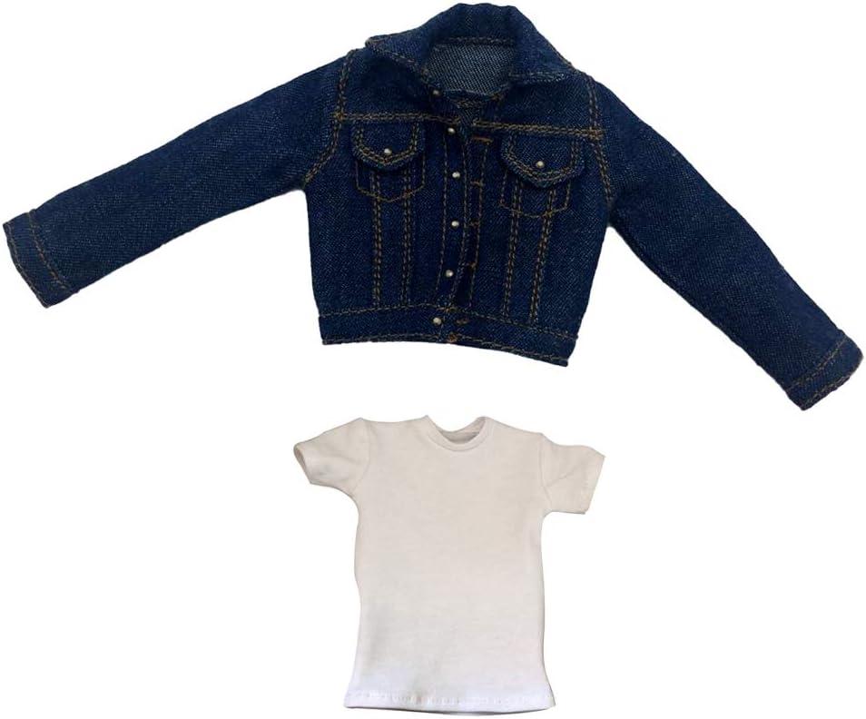 1//6 Female Clothes Sweatshirt Jean Pansfor 12/'/' Action Figures Clothing Accs