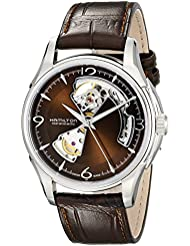Hamilton Mens H32565595 Open Heart Marron Open Dial Watch