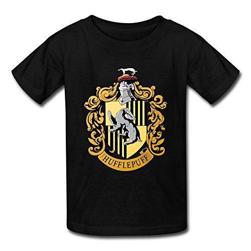 AOPO Harry Potter Hufflepuff Badger Tee Shirts For Kids Unisex (Hogwarts Costumes For Women)