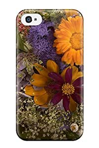 Flexible Hard Back Case Cover For Iphone 4/4s - Flower Earth Nature Flower