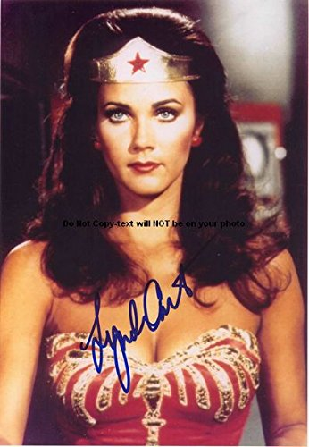 Carter Linda Ww Autographed Preprint Signed Photo