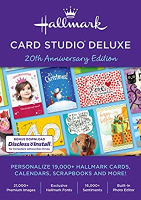 Hallmark Card Studio Deluxe 2019 [PC Download]