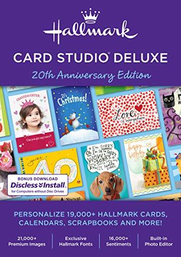 (Hallmark Card Studio Deluxe 2019 [PC Download])