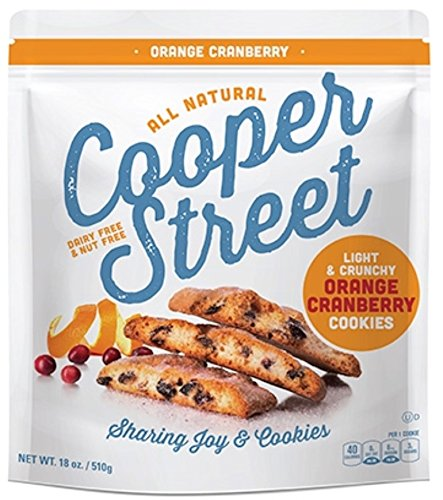 Cooper Street All Natural Orange Cranberry Cookies 18 oz.