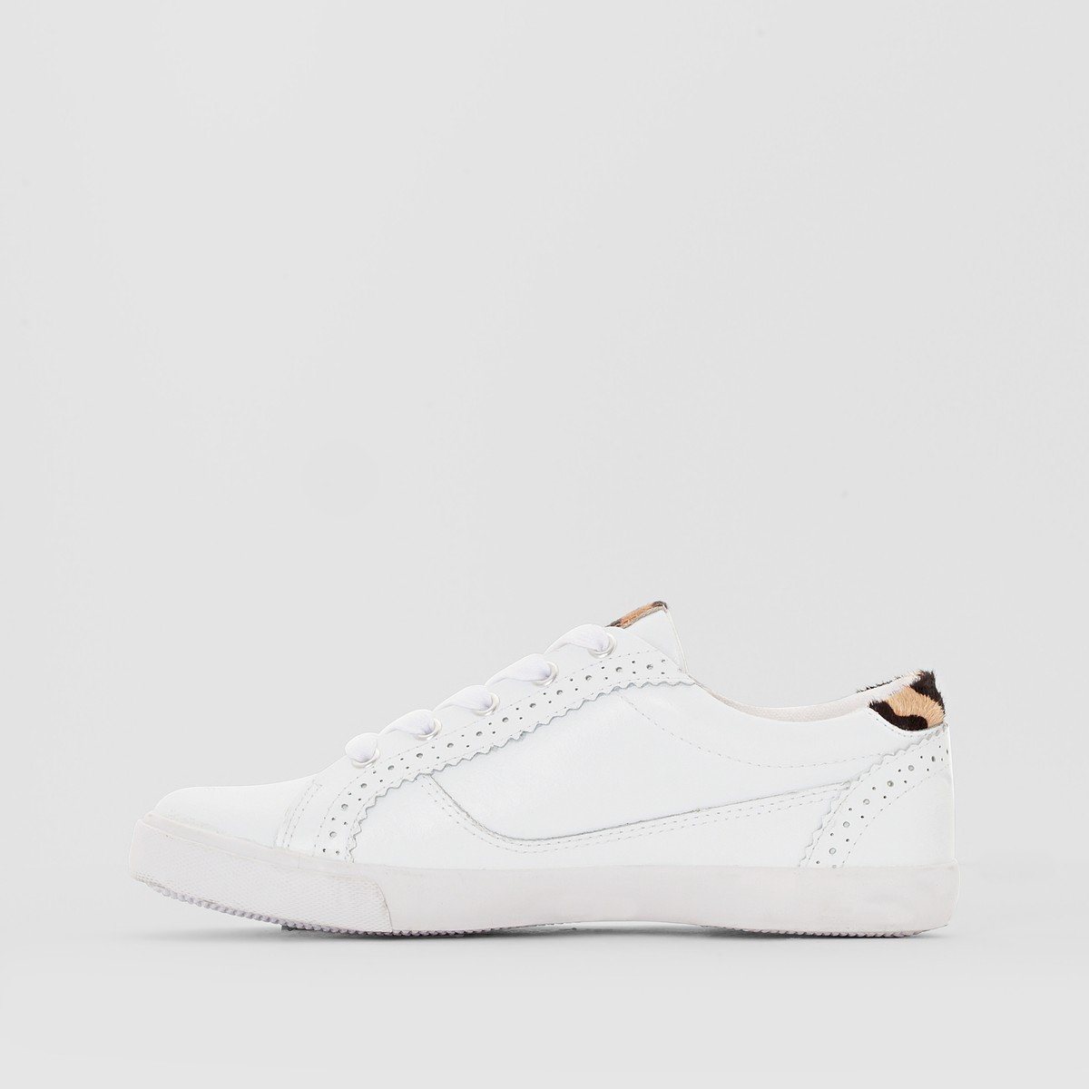 La Redoute Redoute Redoute Collections Donna Baskets Pelle Leopardate Dietro  Bianco 643bc5