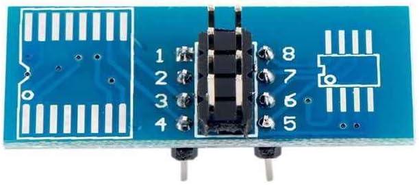 Rongweiwang Soic8 Sop8 Flash Chip Ic Test Clips Sockel Adpter Bios 24 25 93 Programmer Küche Haushalt