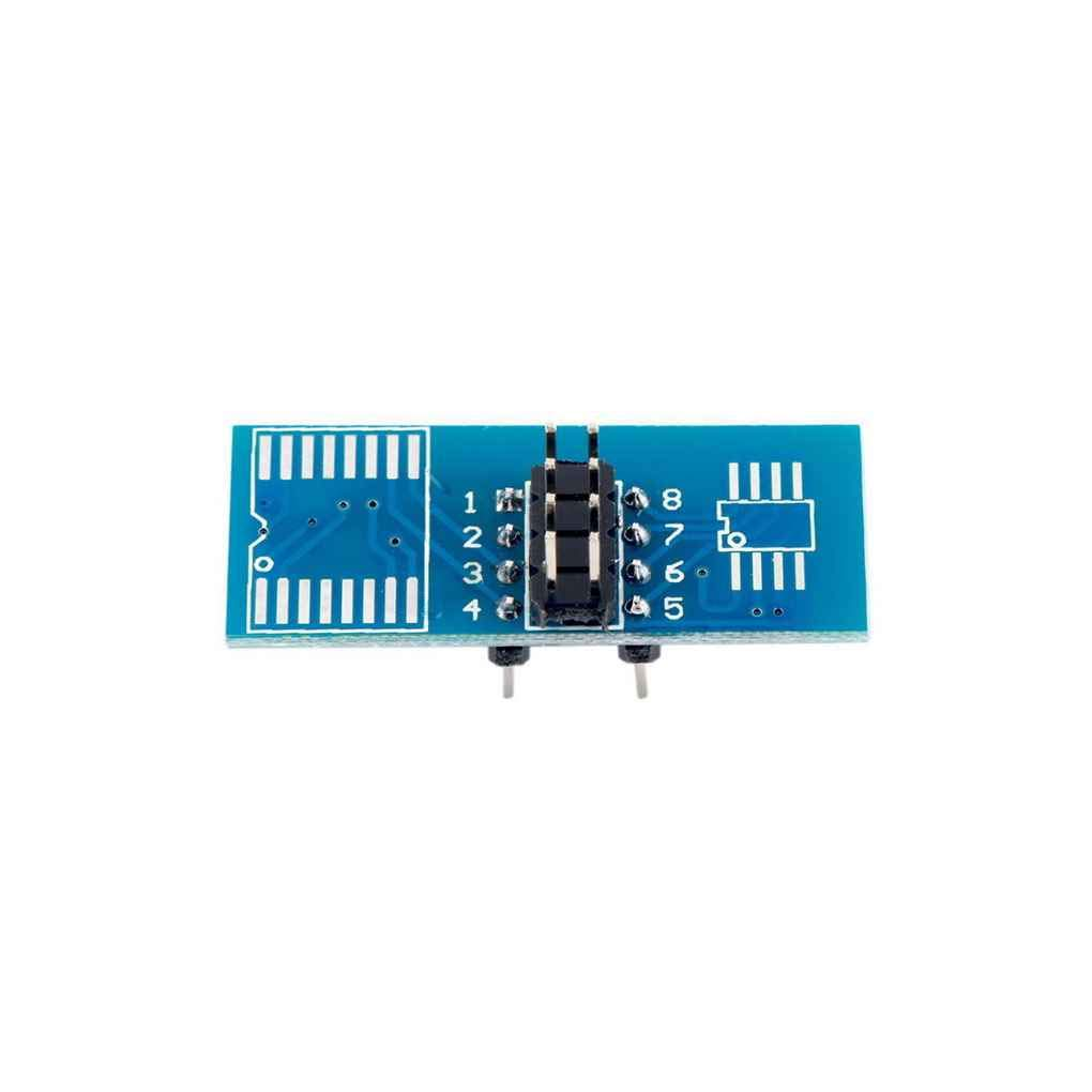 Ben-gi Clip SOIC8 SOP8 Flash Chip di Test per IC Socket Adpter BIOS 24//25//93 Programmatore