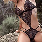 HAPPIShare Women One Piece Lingerie Lace Sexy