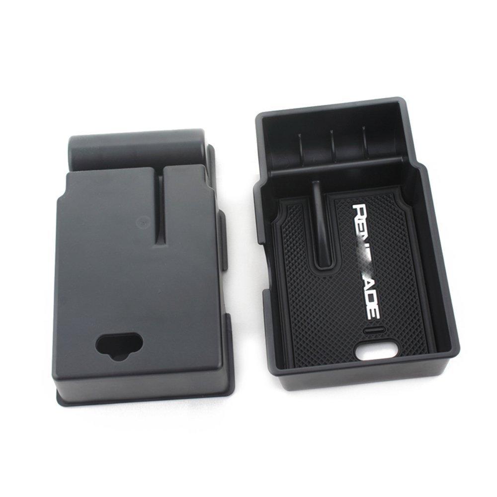 Apoyabrazos para coche,La caja auxiliar en el apoyabrazos central del autom/óvil es muy conveniente para almacenar art/ículos peque/ños.