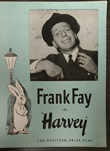 HARVEY orig 1950's souvenir program signed by FRANK FAY, DORA CLEMENT and an incredibly young JEAN STAPLETON & 8 others