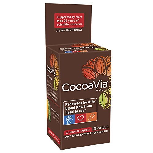 CocoaVia  Vegetarian Capsules, 90 Count Bottle