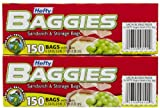 Hefty Baggies Sandwich Bags – 150 ct – 2 pk Reviews