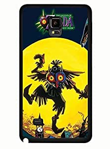 customize Cool he Samsung Galaxy Note 4 Case him Legend of zelda him Flexible Design stares TOOT0 Case