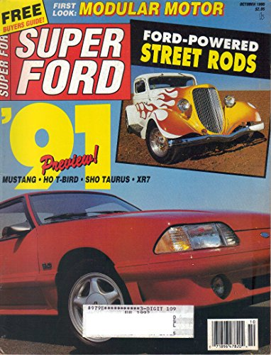 Super Ford Magazine, October 1990 (Vol. 15, No. - Ford Ronnie