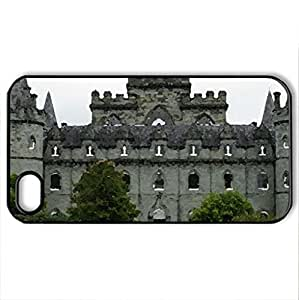 Inveraray Castle - Case Cover for iPhone 4 and 4s (Medieval Series, Watercolor style, Black)