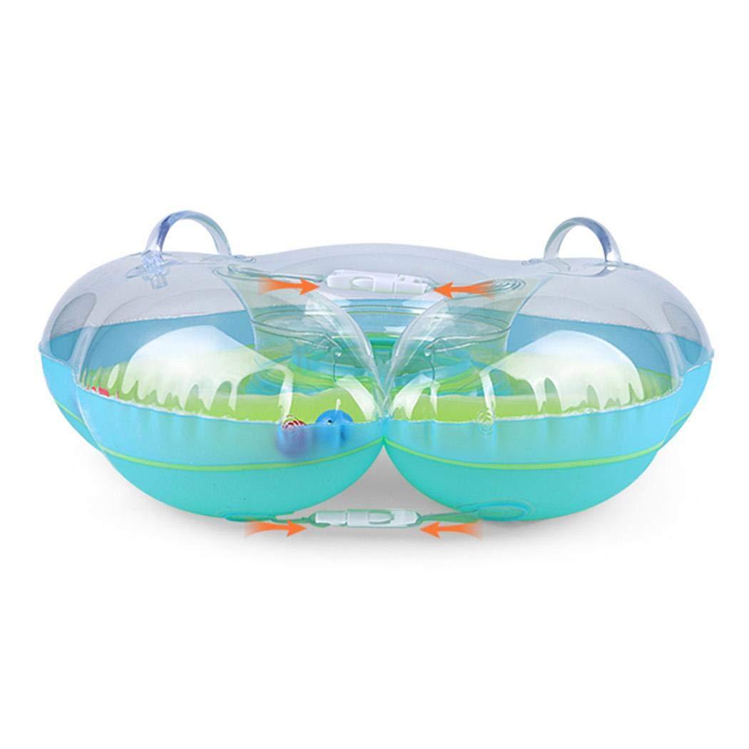 Baby Schwimmen Ring Baby Schwimmhilfe Kinder Schwimmring Aufblasbarer Einstellbare Life Boje Schwimmtrainer f/ür Baby Yukio SommerFun S