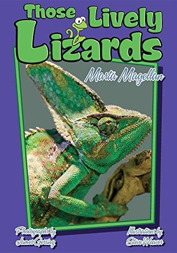 Those Lively Lizards (Those Amazing Animals)