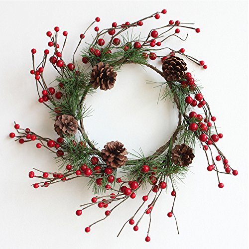 Red Berry Christmas Wreaths, 12