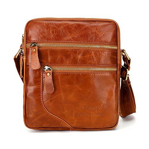 Cinsanong Womens Bags Sale! Leather Fashion Trend Crossbody Messenger Bag Business Satchel Casual Designer Bags