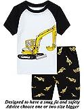 #5: Little Pajamas Boys Pajamas 100% Cotton Short Kids Snug Fit Pjs Summer Toddler Sleepwear