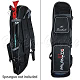 """Scuba Choice Palantic 40"""" Spearfishing Fins Gear Bag BackPack with Speargun Carry System"""