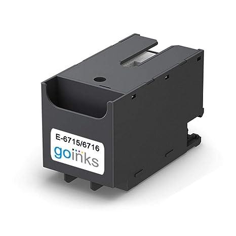 Go Inks E-6715 Caja/Tanque de Mantenimiento de Tinta para ...