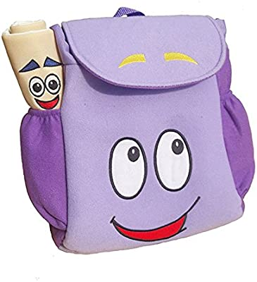 Amazon.com: Dora Explorer Backpack Rescue Bag with Map,Pre ... on