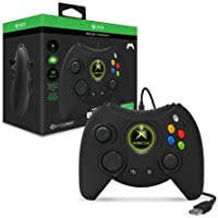 Hyperkin Duke Wired Controller for Xbox One/ Windows 10 PC (Black) - Officially Licensed by Xbox