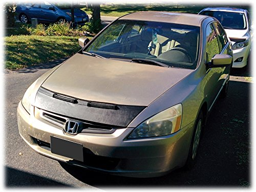 HOOD BRA Front End Nose Mask for Honda Accord USA Canada 2002-2007 Bonnet Bra STONEGUARD PROTECTOR TUNING ()