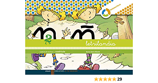 Letrilandia Cuaderno 2 De Escritura Cuadricula A Tu Medida Entorno Lógica Matemática Spanish Edition 9788426371461 Usero Alijarde Aurora Books