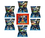 Supergirl Exclusive Polybag + Lord Of The Rings Legolas Gimli Gollum + Ninjago Zane + The Lego Movie Bad Cop + Benny Fun Packs - LEGO Dimensions - Not Machine Specific