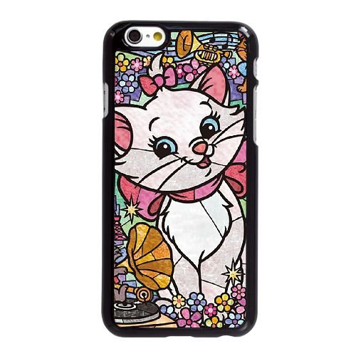 Disney Stained Glass 2 iPhone 6 6S 4,7-Zoll-Handy-Fall Hülle schwarz O5O8ZVXDDB
