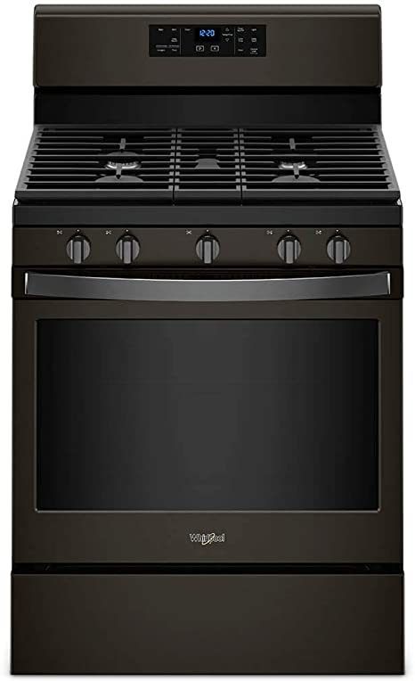Amazon.com: Whirlpool WFG525S0HV 5.0 Cu. Ft. Black Inox ...
