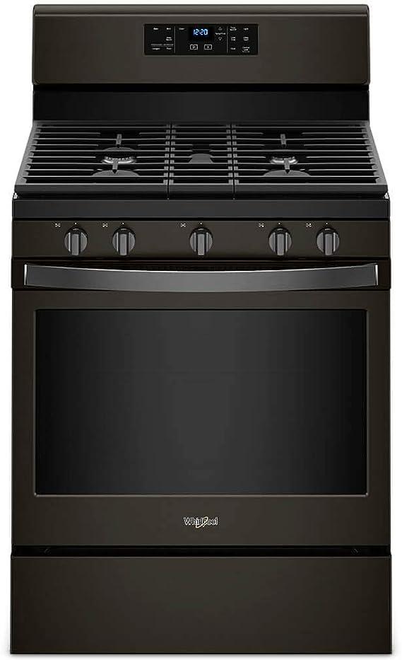 Amazon.com: Whirlpool WFG525S0HV 5.0 Cu. Ft. Black Inox ...