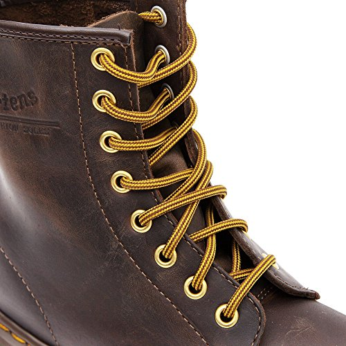 Adulto Stivaletti Martens Dr Distressed Unisex Brown dt7Cw5