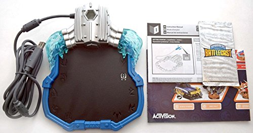 Skylanders XBOX ONE SuperChargers Portal of Power Figure Game Base +2pk Card in Bulk Packaging (Portal Base)