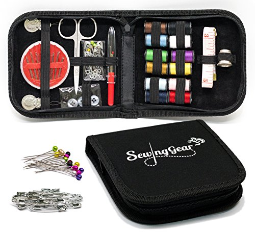 Compact Sewing Kit for Home, Travel and Camping