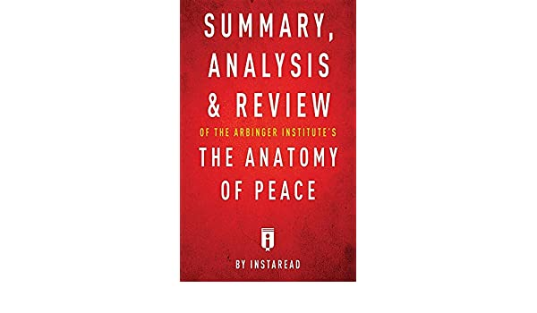 Summary Analysis Review Of The Arbinger Institutes The Anatomy