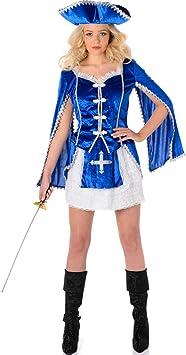 Folat B.V. Karnival – Costumes – Disfraz de Mosquetero para Mujer ...