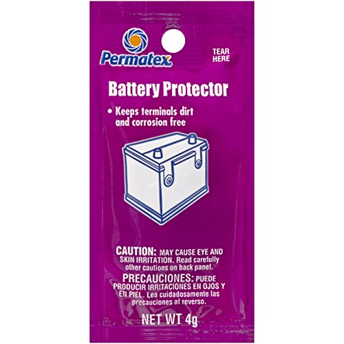 Permatex 09976 Counterman's Choice Battery Protector Grease, 4 g Pouch