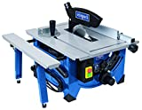 Scheppach 240V 8-inch Table Top Sawbench with Sliding Side Extension