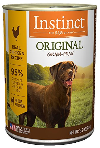 By Nature Chicken Dog Food (Instinct Original Grain Free Real Chicken Recipe Natural Wet Canned Dog Food by Nature's Variety, 13.2 oz. Cans (Case of 6))