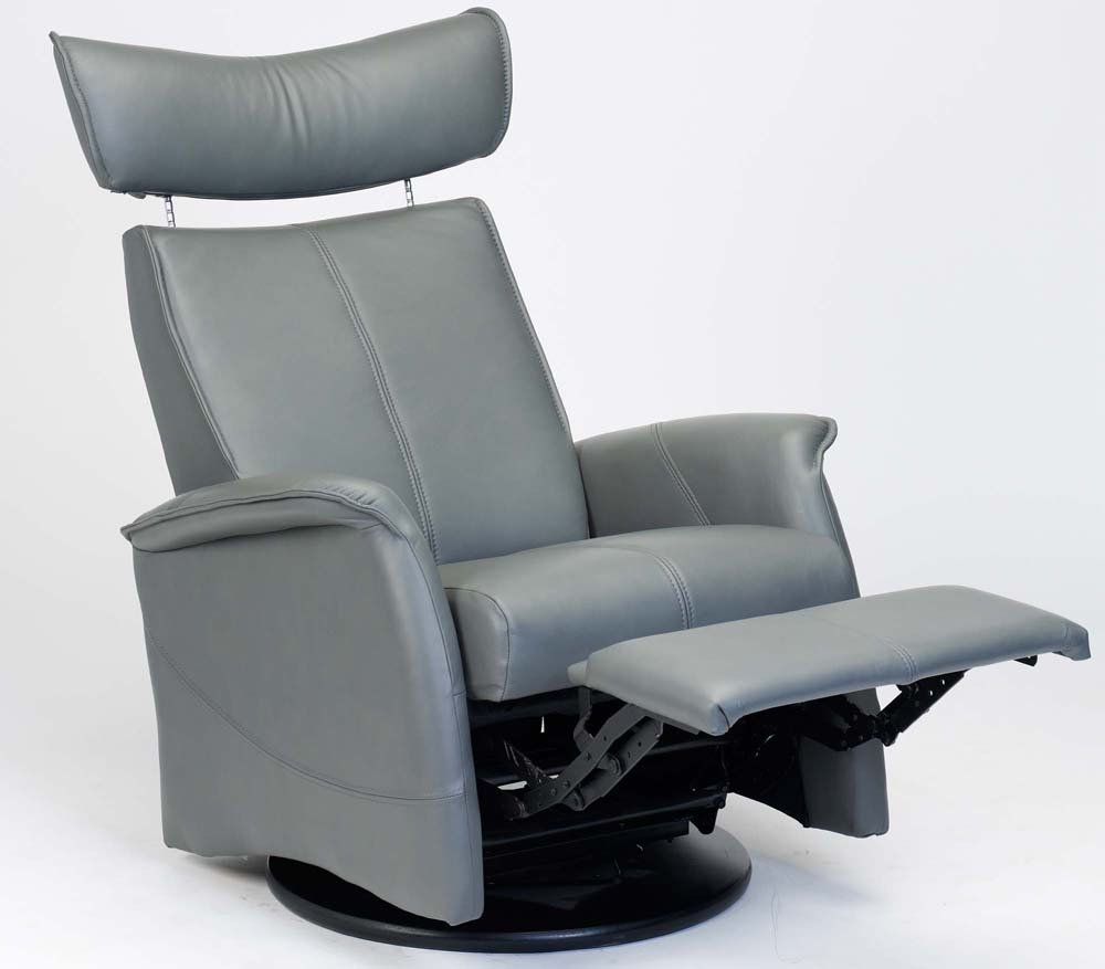 ... Recliner Norwegian Ergonomic Scandinavian Lounge Anti-Gravity Reclining Chair Furniture Soft Line Grey Genuine Leather by Hjellegjerde Kitchen u0026 Dining & Amazon.com: Fjords London Swing Relaxer Zero Gravity Recliner ... islam-shia.org
