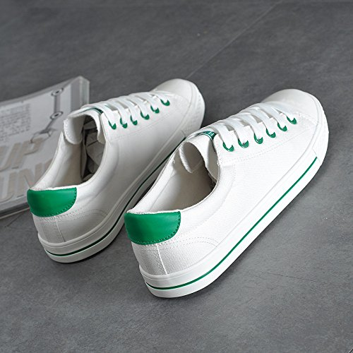 tela scarpe scarpe uomo selvaggio WFL Estate scarpe bianche da casual marea da scarpe di traspirante 1 stoffa bianco ginnastica scarpe scarpe di 4PY4gwxqU