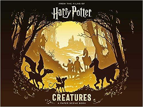 Amazon Com Harry Potter Creatures A Paper Scene Book
